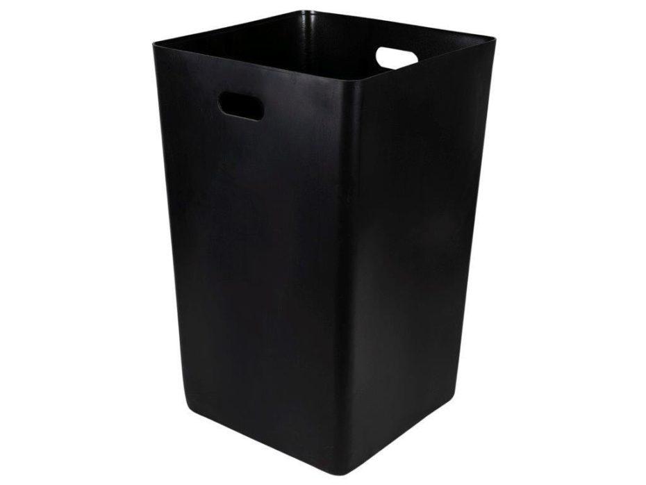 Black square SQS27 trash liner