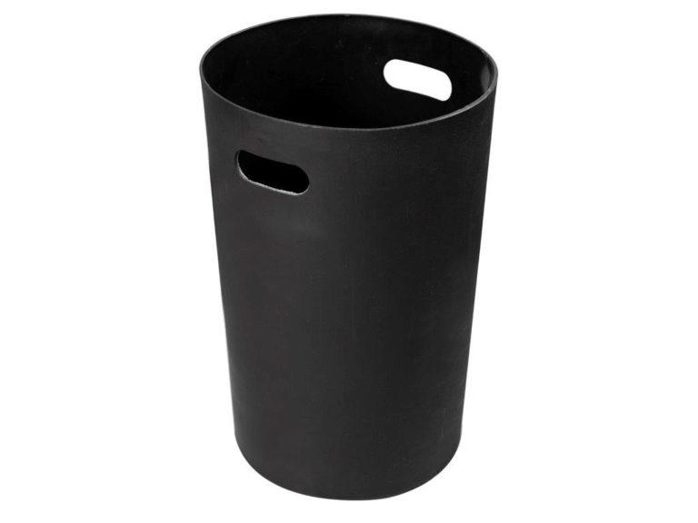 black circular RL125195 trash liner