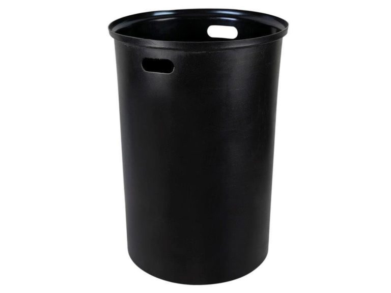 black circular RL1927 trash liner