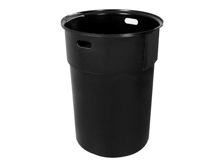 black circular RL2331 trash liner